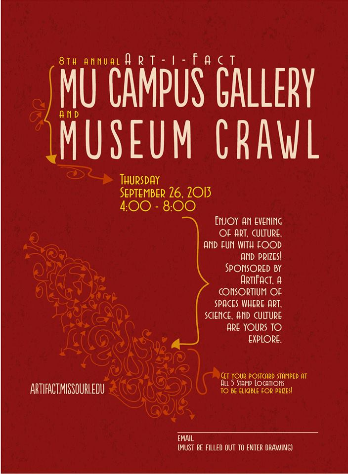 MU Campus Gallery & Museum Crawl
