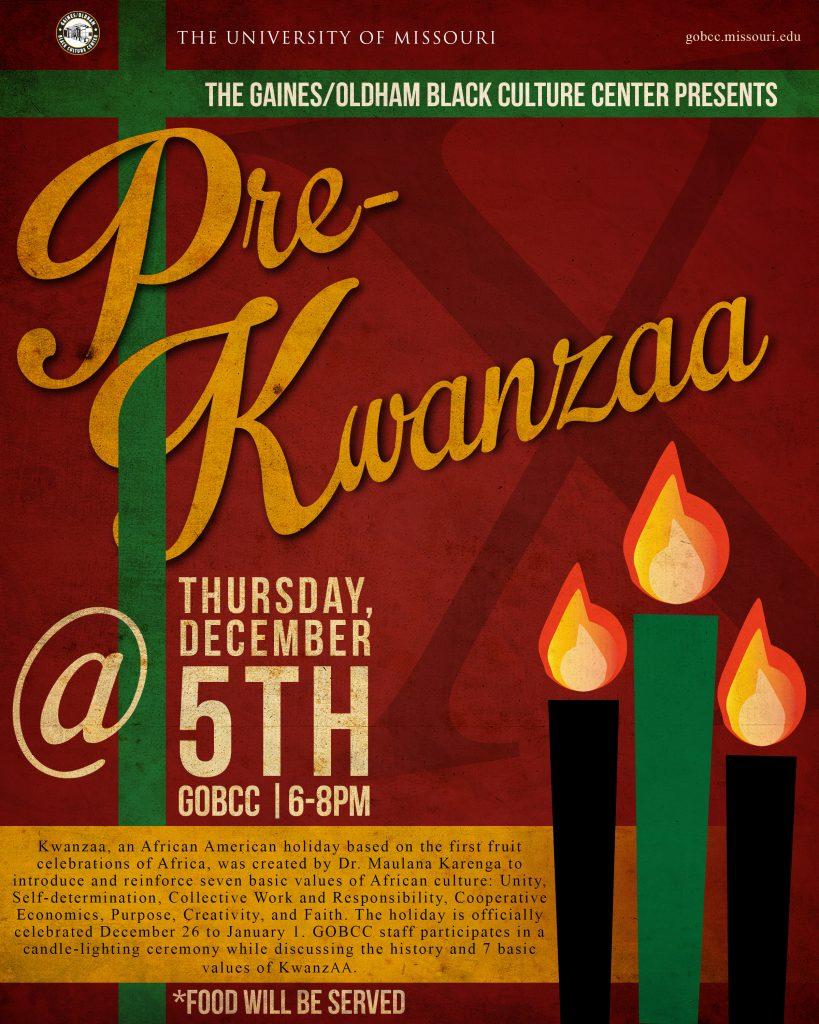 Pre-Kwanzaa