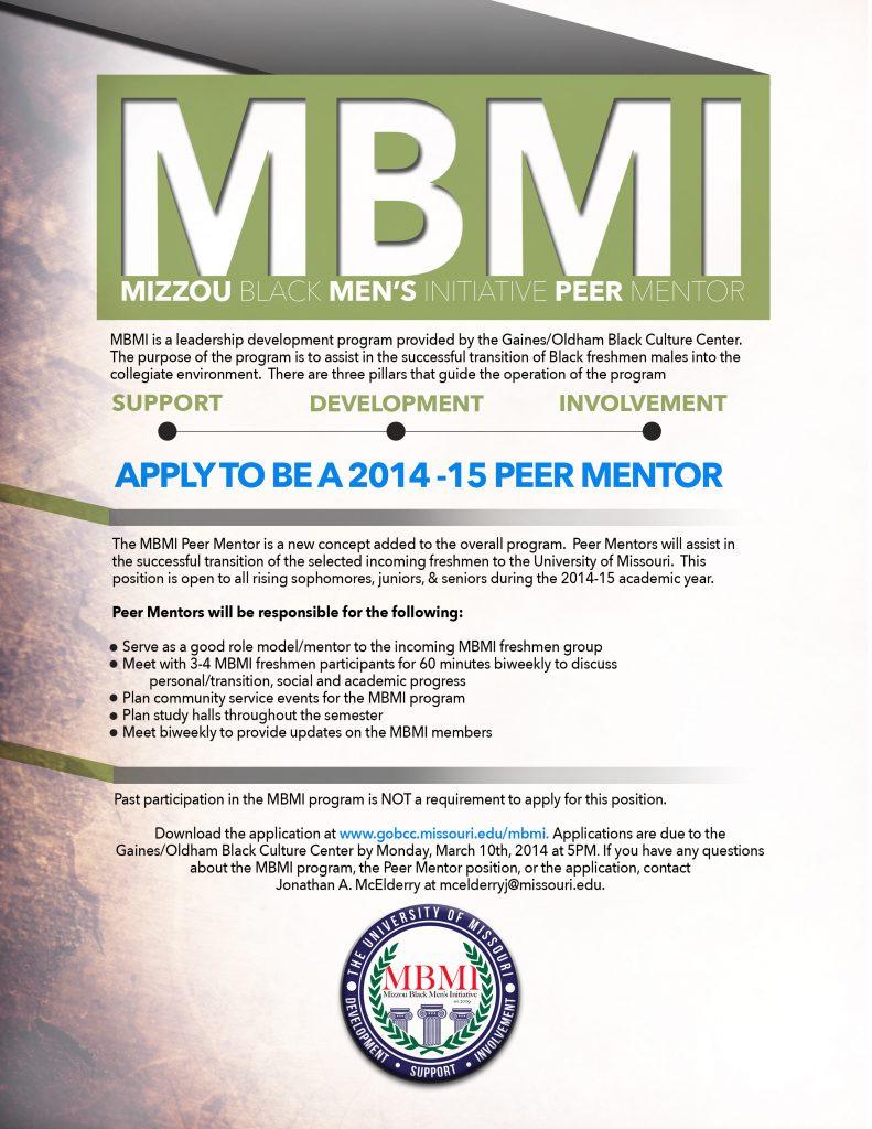 MBMI Mentor Flyer