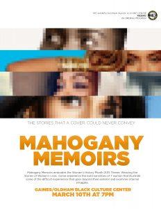 Mahogany Memoirs (2)